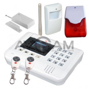 Сигнализация с GSM модулем