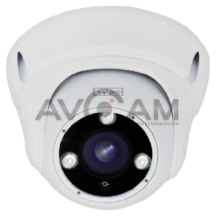 Цветная купольная видеокамера CTV-HDD284A ME