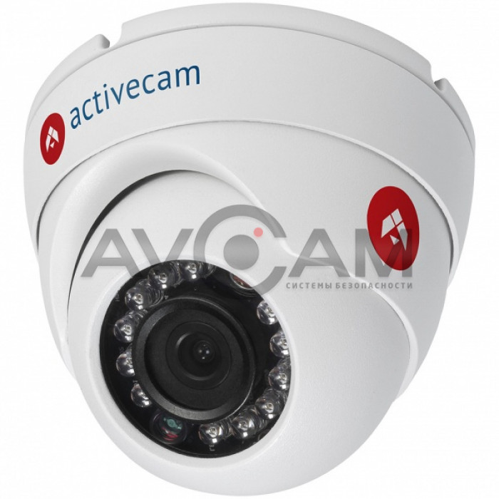 IP видеокамера вандалозащищённая ActiveCam AC-D8121WDIR3