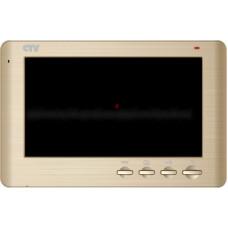 Цветной видеодомофон с записью по движению CTV-M1704SE