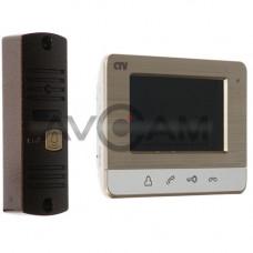 Комплект цветного видеодомофона CTV-DP401