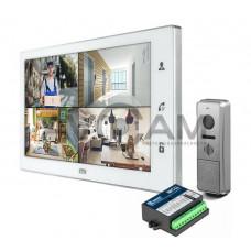 Комплект видеодомофона CTV-DP4102FHD (FULL HD) с блоком сопряжения Даксис МСЦ