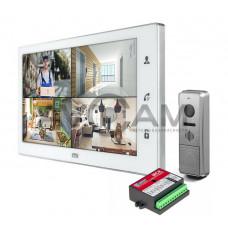 Комплект видеодомофона CTV-DP4102FHD (FULL HD) с блоком сопряжения Даксис МСК