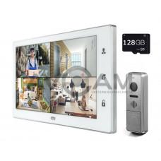 Комплект цветного видеодомофона формата AHD с датчиком движения и WIFI CTV-DP4102AHD