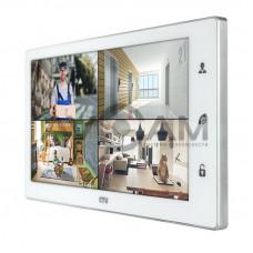 Цветной видеодомофон формата AHD с датчиком движения и WIFI CTV-M4102AHD