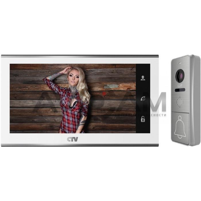 Комплект цветного AHD видеодомофона (FULL HD) с датчиком движения CTV-DP4705AHD