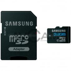 Карта памяти Samsung Essential MicroSDHC 32Gb Class 10 + адаптер SD