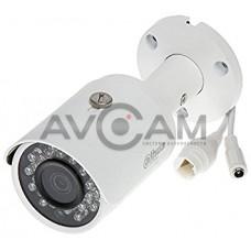 Уличная цилиндрическая IP видеокамера  Dahua DH-IPC-HFW2239SP-SA-LED-0360B