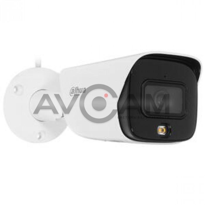 Уличная цилиндрическая IP видеокамера  Dahua DH-IPC-HFW3449EP-AS-LED-0360B