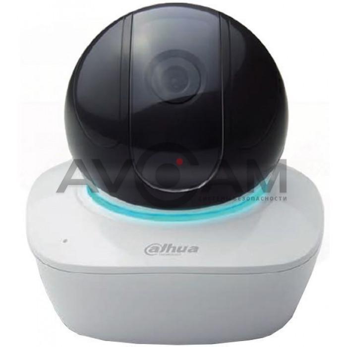 Миниатюрная поворотная IP видеокамера с Wi-Fi Dahua DH-IPC-A26P