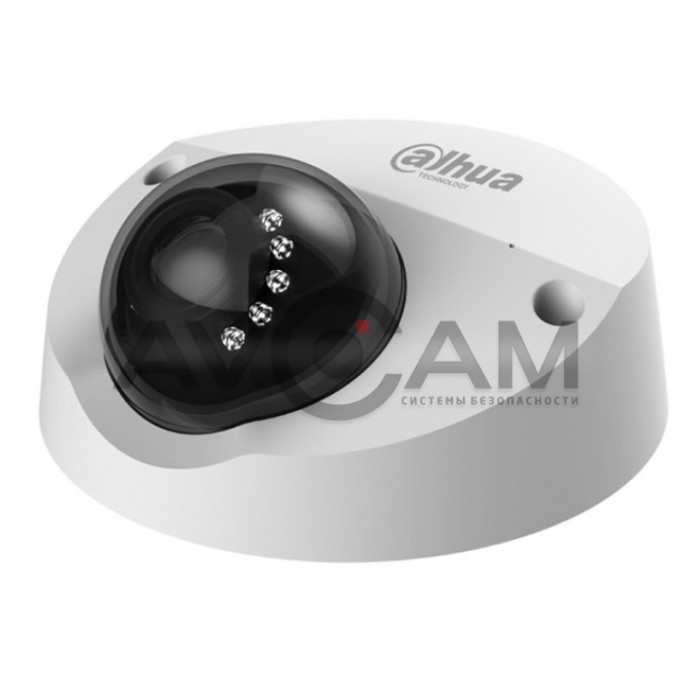 Мини-купольная IP видеокамера Dahua DH-IPC-HDPW1420FP-AS-0280B