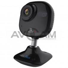 Компактная IP видеокамера миникорпусная с WIFI и со звуком Ezviz CS-CV200-A1-52WFR (Black)