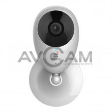 Компактная IP видеокамера миникорпусная с WIFI и со звуком Ezviz CS-CV206-A0-1B2W2FR