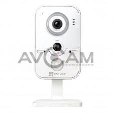 Компактная IP видеокамера миникорпусная с WIFI и со звуком Ezviz CS-CV100-31WPFR (2.8mm)