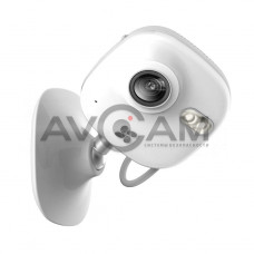 Компактная IP видеокамера миникорпусная с WIFI и со звуком Ezviz CS-CV200-A1-52WFR (White)