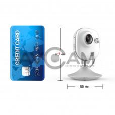 Компактная IP видеокамера миникорпусная с WIFI и со звуком Ezviz CS-C2mini-31WFR