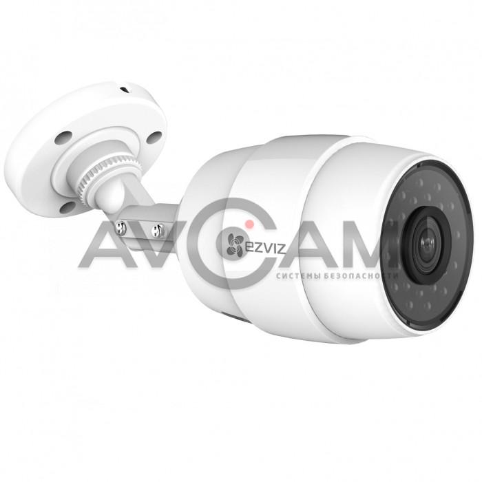 Компактная уличная IP видеокамера с WIFI и записью на MicroSD Ezviz CS-CV216-A0-31WFR(2.8mm) 2