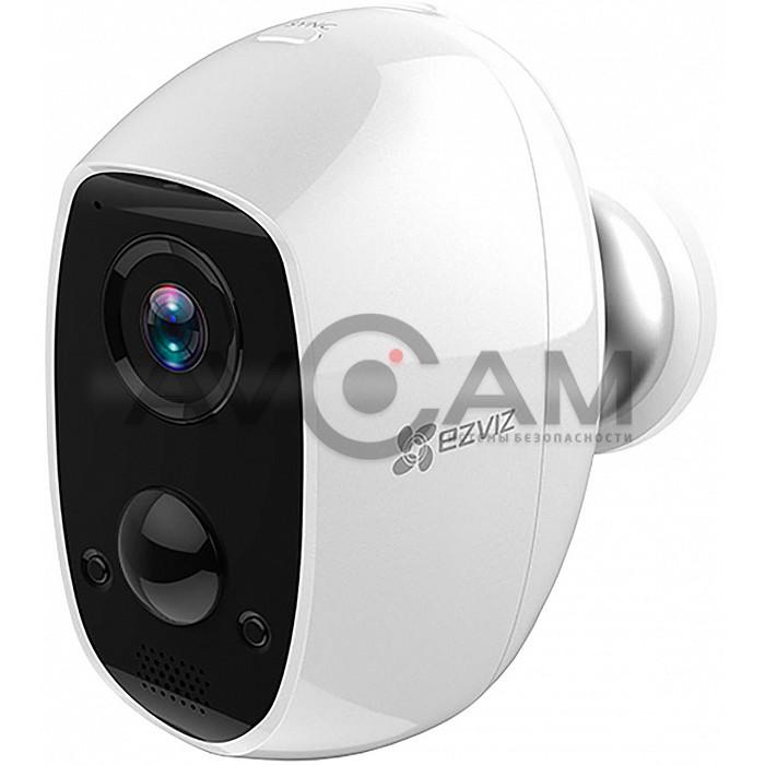 Беспроводная автономная IP видеокамера с WIFI на аккумуляторе EZVIZ C3A (CS-C3A-A0-1C2WPMFBR)