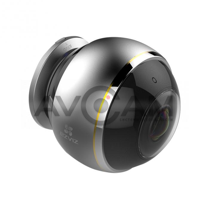 Панорамная IP видеокамера fisheye с WIFI и со звуком Ezviz CS-CV346-A0-7A3WFR (С6Р)