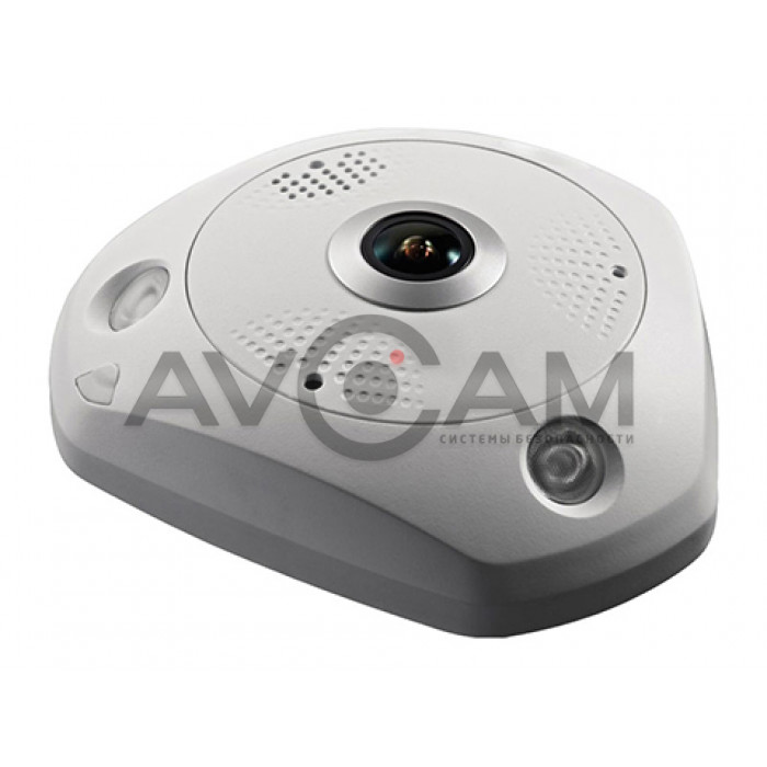 Видеокамера купольная Optimus AHD-H112.1(1.7) объективом Fish Eye