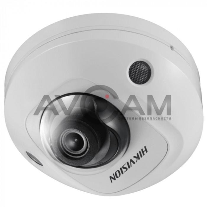 Уличная 6Мп купольная антивандальная IP видеокамера  Hikvision DS-2CD2563G0-IS
