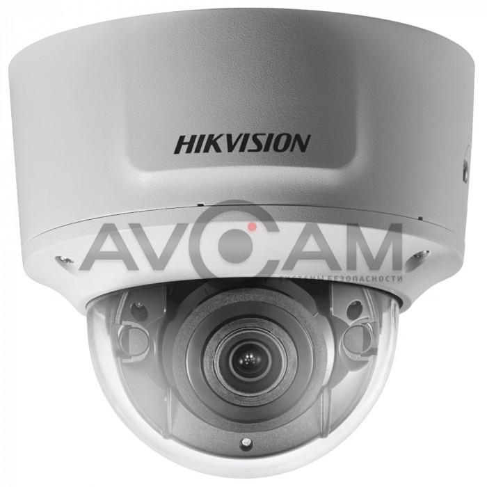 Уличная купольная 6Мп антивандальная IP видеокамера с вариообъективом Hikvision DS-2CD2763G0-IZS