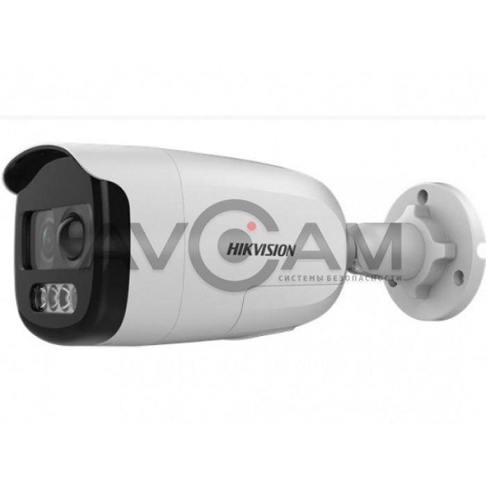 Уличная компактная HD-TVI видеокамера Hikvision DS-2CE12DFT-PIRXOF