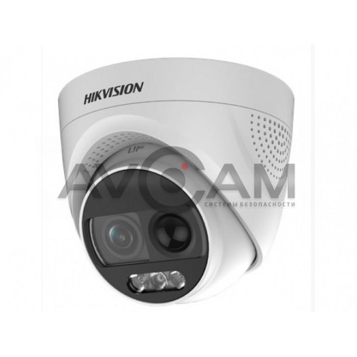 Купольная уличная HD-TVI видеокамер  Hikvision DS-2CE72DFT-PIRXOF