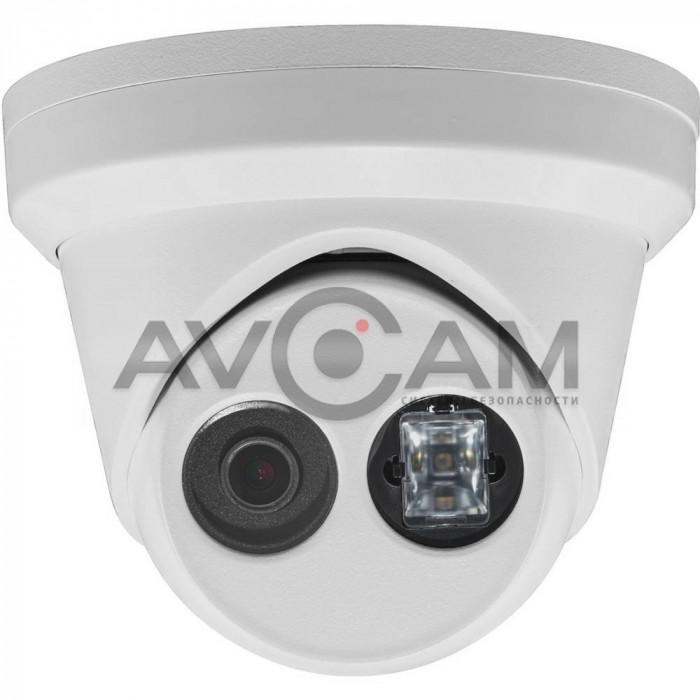 Уличная купольная 4 Мп IP видеокамера с микрофоном Hikvision DS-2CD2343G0-IU