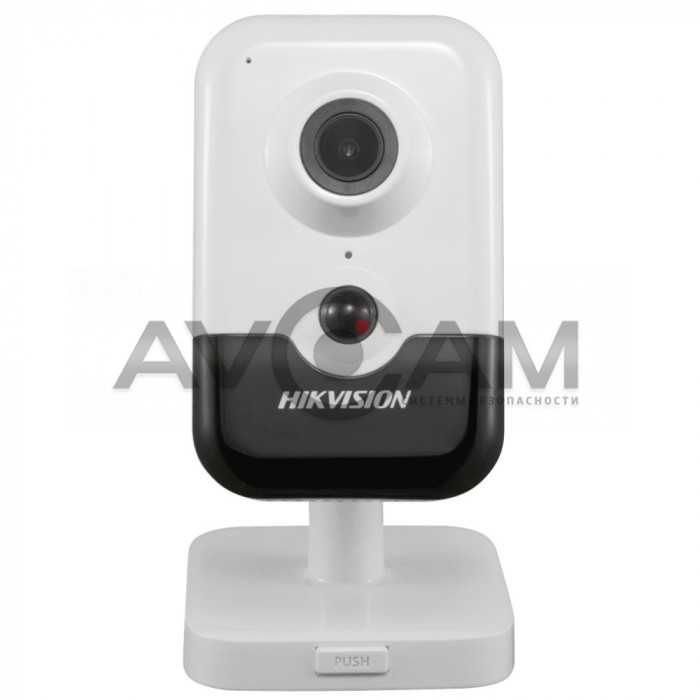 4 Мп компактная Wi-Fi IP видеокамера  Hikvision DS-2CD2443G0-IW
