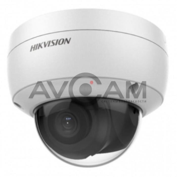 Уличная 2 Мп IP видеокамера с микрофоном Hikvision DS-2CD2123G0-IU
