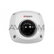 Внутренняя купольная HD-TVI видеокамера с ИК подсветкой HiWatch DS-T251 4