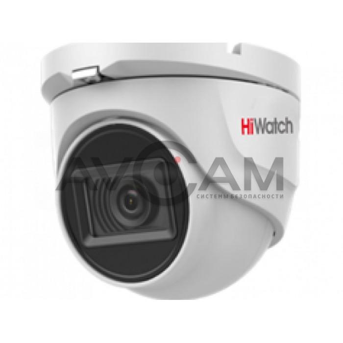 Уличная купольная HD-TVI видеокамера HiWatch DS-T803