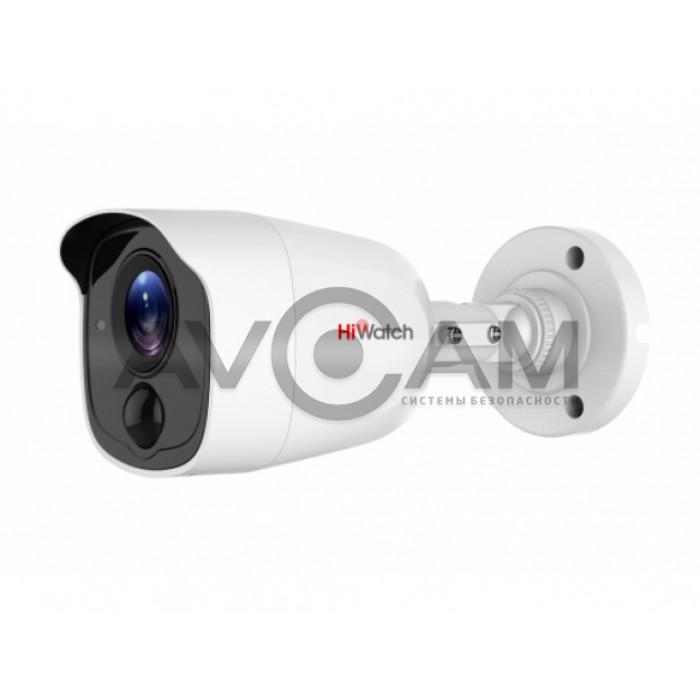 Уличная HD-TVI видеокамера HiWatch DS-T510(B)