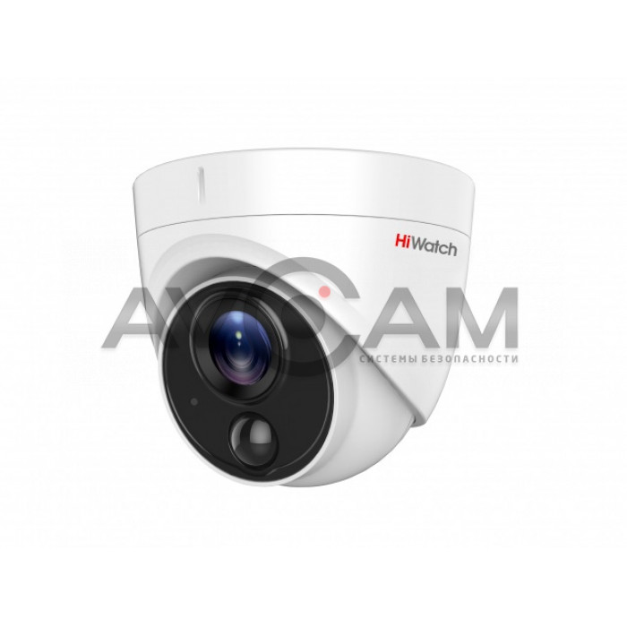 Уличная купольная HD-TVI видеокамера HiWatch DS-T513(B)
