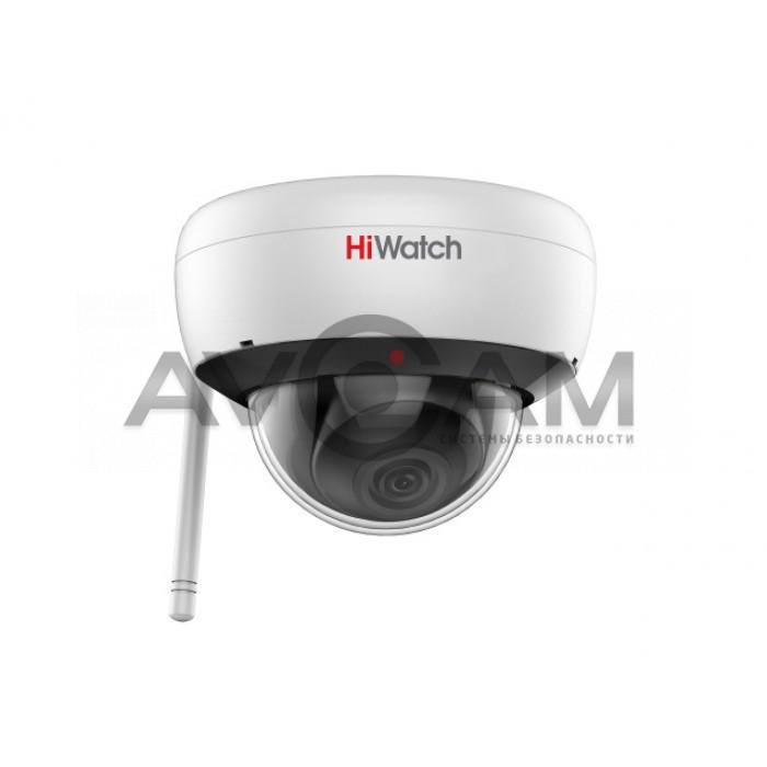 Внутренняя купольная IP видеокамера с Wi-Fi HiWatch DS-I252W