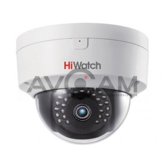 Внутренняя купольная IP видеокамера с Wi-Fi HiWatch DS-I252 S