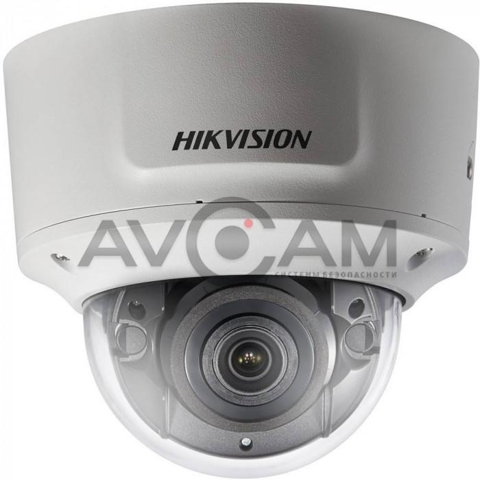Уличная антивандальная купольная IP видеокамера с моторизованным объективом Hikvision DS-2CD2723G0-IZS