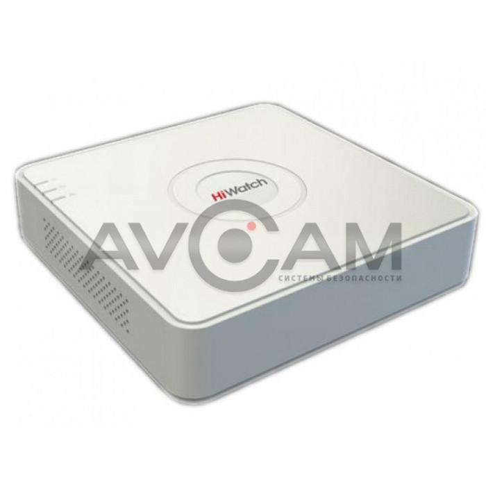 4-х канальный гибридный HD-TVI видеорегистратор HiWatch DS-H204QA