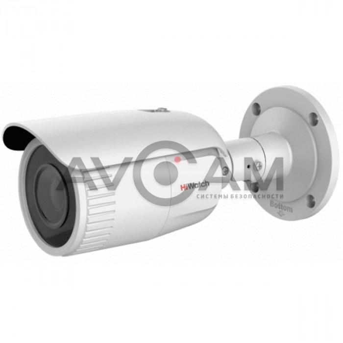 Уличная IP видеокамера с вариофокальным объективом HiWatch DS-I256