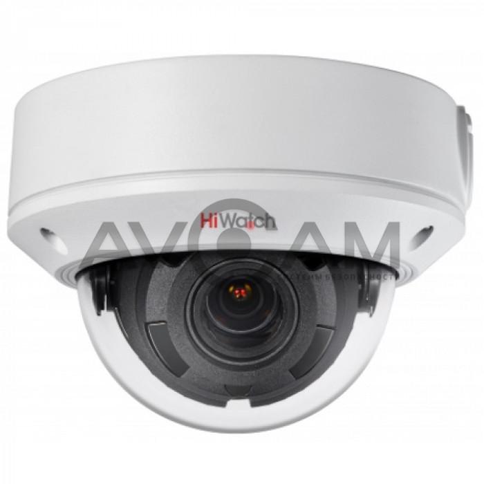 Уличная IP видеокамера с вариофокальным  объективом HiWatch DS-I258