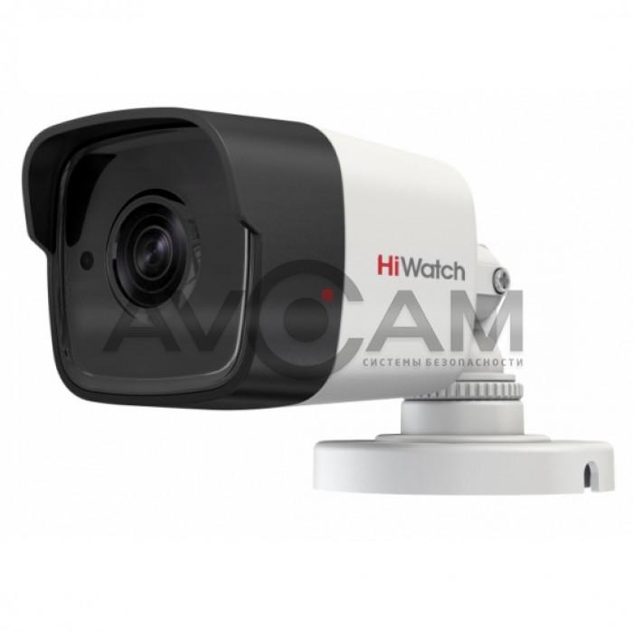 Уличная цилиндрическая IP видеокамера HiWatch DS-I450