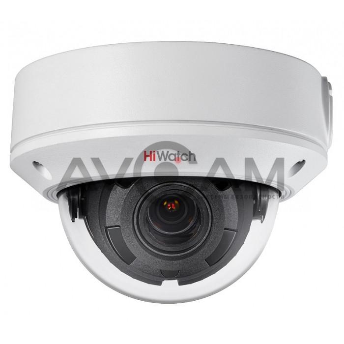 Уличная купольная IP видеокамера HiWatch DS-I458