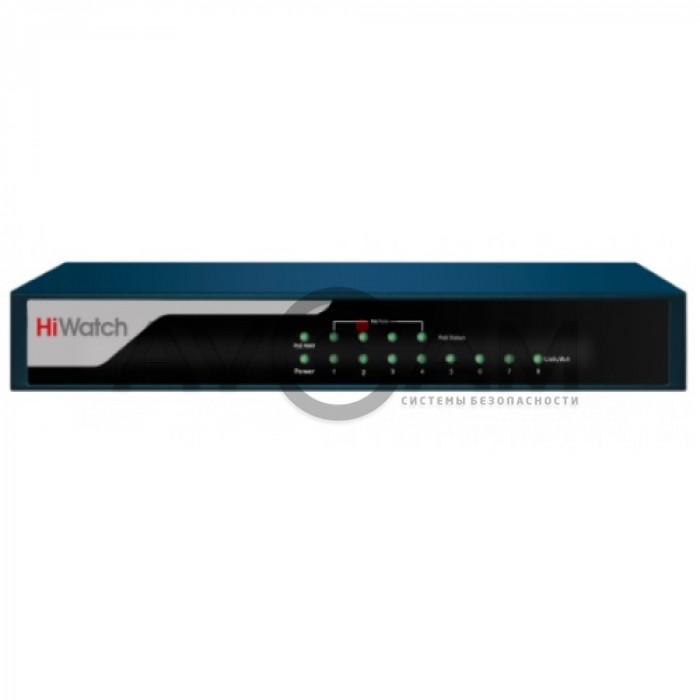 Неуправляемый Fast Ethernet PoE-коммутатор HiWatch DS-S804P