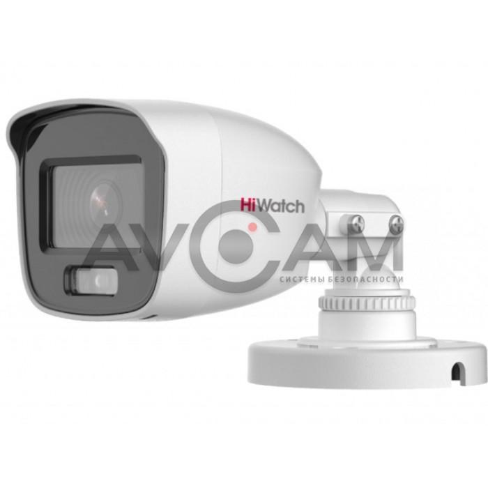 Уличная HD-TVI видеокамера HiWatch DS-T200L