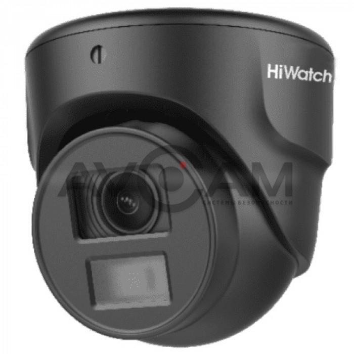 Уличная купольная HD-TVI видеокамера HiWatch DS-T203N