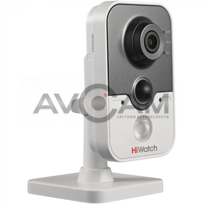 Внутренняя миникорпусная HD-TVI видеокамера с ИК подсветкой HiWatch DS-T204