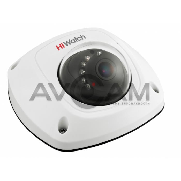 Внутренняя купольная HD-TVI видеокамера HiWatch DS-T251