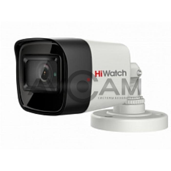 Уличная HD-TVI видеокамера HiWatch DS-T800