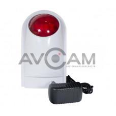 Беспроводная сирена со встроенным световым оповещателем к охранному комплекту PROTEUS kit Tantos TS-WS950